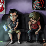 Cartoon Guys by MaxRH