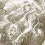 Innocenza Illustration by BluMiu
