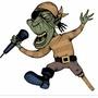 Pirate rockstar