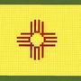 new mexico state flag by venom96