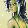 Elf girl by FLASHYANIMATION
