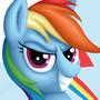 Rainbow Dash Bust