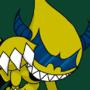 PunkJoker Dark Tomamon by RikoriStorm