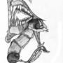 skeleton worm monster!!! by oogenblagen