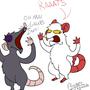RAAAAAAAATS by PsychoticRat
