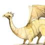 Yellow dragon by KattyC