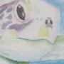 Sea Turtle Watercolor by Jom