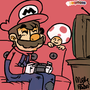 Super Mario by MysticPandah