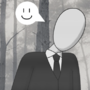 AmnesiaShy And Slenderman by OddyMcStrange