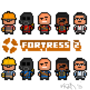 TF2 Pixel Concept Art by Vxzr
