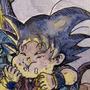 Dragon Ball Classic Fanart by Manguinha
