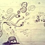 Ocean Doodles by IndigoRae