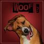 Low poly portrait dog