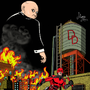 Netflix Daredevil Colored by eMokid64