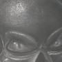 Darkened Skull by Salvager