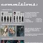 commissions by cziczak