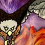 Flame eagle by mega2416