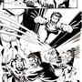Wolverine fight scene by Knafomania