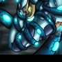 CC: Samus Aran in Phazon Love by SpacePirateLord