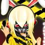 Caution Bunny by InsanityKurai