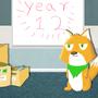 Year 12 fox by foxplayin