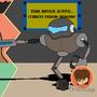 DIno Vs Robot by TrisNGar