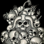 skulls by Vilires