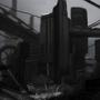 dystopian downtown by Kiabugboy