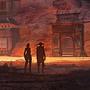 Sunset Gateway by 1600