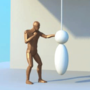 Punching 3d Animation Loop