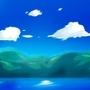 Epic anime background