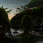 swamp village by Kiabugboy