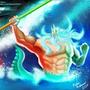 Battle of the Gods by Enthoz