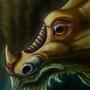 Doleful eyes. by Kayas-Kosmos