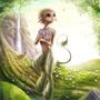 Faun girl by Kayas-Kosmos