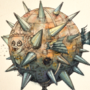 Puffer Mine Fish - (Tetraodontidae Kaboom Boom)