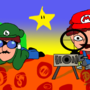 Sniper Mario Bros. by BanyaBeethovenPump