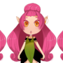 Game sprite - Orchia by saeunmoon