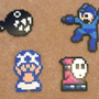 Perler Bead Mini Projects by Glugglor