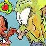 alien crab love by MrCreeep