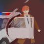 Cop Car by Hampelinen