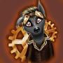 Steampunk Raccoon by Ezydenias