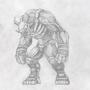 Brute demon by Tcrakman