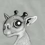 Giraffizard by LordLeovuld