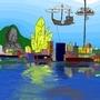 America City at its birth by Bikou