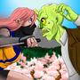 Ninja Zombie Dash Title Screen
