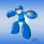 Classic Mega Man Fan Art by Ecles