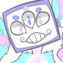 cotton candy DEMON by limeslimed
