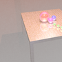 Woodgrain Table Concept Render