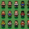 pixel soccer players